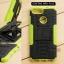 เคส Zenfone Max Plus (M1) เคสบั๊มเปอร์ กันกระแทก Defender สีเขียวอ่อน thumbnail 1