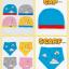 AP186••เซตหมวก+ผ้ากันเปื้อน•• / เมฆ [สีชมพู] thumbnail 6