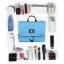 กระเป๋าใส่อุปกรณ์อาบน้ำ คุณภาพสูง ใส่อุปกรณ์อาบน้ำ แขวนได้ สำหรับเดินทาง ท่องเที่ยว (สีฟ้า) thumbnail 5
