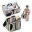 กระเป๋าคุณแม่ กางเป็นที่นอนทารกพกพาได้ 3 in 1 Baby Travel Bed and Bag thumbnail 1