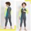 ชุดว่ายน้ำเด็กชาย Dive & Sail จั๊มสูทแขนยาวขายาว กันรังสี UV thumbnail 3