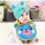 AP154••เซตหมวก+ผ้ากันเปื้อน•• / [สีฟ้า] น้องหมี thumbnail 1