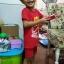 ชุดสีแดงเด็กโต เสื้อยืด+กางเกงขาสั้นเอวยางยืด สกรีนลายช้างพ่นน้ำ สำหรับเด็กวัย 3-8 ปี thumbnail 7