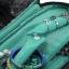 กระเป๋าใส่เครื่องประดับ จัดเก็บสร้อยข้อมือ ต่างหู แหวน สร้อยคอ กำไล นาฬิกา คุณภาพสูง (Green) thumbnail 7