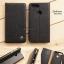 เคส Zenfone Max Plus (M1) เคสฝาพับเกรดพรีเมี่ยม ลายหนัง พร้อมช่องใส่บัตรด้านใน (พับเป็นขาตั้งได้) สีดำ (หมุดเหล็ก) thumbnail 1