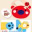 AP154••เซตหมวก+ผ้ากันเปื้อน•• / [สีฟ้า] น้องหมี thumbnail 6