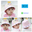 HT494••หมวกเด็ก•• / หมวกปีกกว้าง-ยิ้ม ยิ้ม (สีชมพู) thumbnail 1