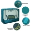 ชุดจัดกระเป๋าเดินทาง 7 ใบ จัดกระเป๋าเดินทาง ท่องเที่ยว ใส่เสื้อผ้า ชุดชั้นใน อุปกรณ์ห้องน้ำ กางเกงใน รองเท้า ถุงเท้า เครื่องสำอาง อุปกรณ์ไอที (Green) thumbnail 11