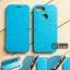 เคส Zenfone Max Plus (M1) เคสหนังฝาพับ + แผ่นเหล็กป้องกันตัวเครื่อง (บางพิเศษ) สีฟ้า thumbnail 1