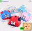 หมวกแก๊ป หมวกเด็กแบบมีปีกด้านหน้า ลาย M (มี 5 สี) thumbnail 1
