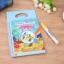 สมุดกระดานน้ำ ระบายสีรูปสัตว์น้ำ YIQU Water Drawing Book - Sea Animal thumbnail 2