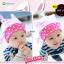 HT184••หมวกเด็ก•• / [สีชมพูอ่อน] Bunny thumbnail 1