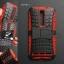 เคส ASUS Zenfone 2 (5.5 นิ้ว) กรอบบั๊มเปอร์ กันกระแทก Defender สีแดง (เป็นขาตั้งได้) thumbnail 1