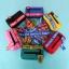กระเป๋าผ้าสะพายข้าง KINGSIZE สีสันสดใสสายสะพายสีตัด