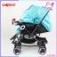 รถเข็นเด็ก ROCKER Camera Stroller ปรับโยกได้ พร้อมหลังคาเคลือบกันน้ำ และ UV thumbnail 6