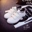 รองเท้าผ้าใบผู้หญิงไซส์ใหญ่ 41 สีขาว รุ่น KR0509 thumbnail 7