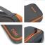 กระเป๋าใส่อุปกรณ์อิเล็กทรอนิกส์ สำหรับใส่อุปกรณ์ไอทีทุกชนิด มีสองชั้น ช่องเยอะพิเศษ มีหูหิ้วพกพาสะดวก (เทา-ส้ม) thumbnail 17