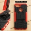 เคส Zenfone Max Plus (M1) เคสบั๊มเปอร์ กันกระแทก Defender สีแดง thumbnail 1