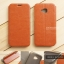 เคส Zenfone 4 Selfie Pro (ZD552KL) เคสหนัง + แผ่นเหล็กป้องกันตัวเครื่อง (บางพิเศษ) สีน้ำตาล thumbnail 1