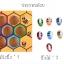 ของเล่นไม้ รังผึ้งสอนจับคู่สี การนับจำนวน ฝึกการคีบ thumbnail 4