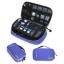 กระเป๋าใส่อุปกรณ์อิเล็กทรอนิกส์ สำหรับใส่อุปกรณ์ไอทีทุกชนิด มีสองชั้น ช่องเยอะพิเศษ มีหูหิ้วพกพาสะดวก (น้ำเงิน) thumbnail 22