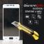 """(มีกรอบ) กระจกนิรภัย-กันรอยแบบพิเศษ (Zenfone 4 Max 5.2"""" / ZC520KL) ความทนทานระดับ 9H สีขาว thumbnail 1"""
