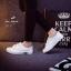 รองเท้าผ้าใบผู้หญิงไซส์ใหญ่ 41 สีขาว รุ่น KR0509 thumbnail 6