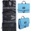 กระเป๋าใส่อุปกรณ์อาบน้ำ คุณภาพสูง ใส่อุปกรณ์อาบน้ำ แขวนได้ สำหรับเดินทาง ท่องเที่ยว (สีฟ้า) thumbnail 4