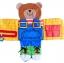หนังสือผ้า แต่งตัวให้น้องหมี ฝึกรูดซิป ติดกระดุม JJOVCE thumbnail 4