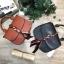 CHARLES & KEITH Scarf Buckle Handbag 2018 free ถุงผ้า มี 2 สีให้เลือกนะคะ thumbnail 1