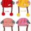 หมวกเด็กอ่อนไหมพรม Tianyi Bear ดีไซน์เปียทวิตไหมสองข้างน่ารักโดดเด่น thumbnail 19