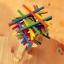 ของเล่นไม้ เกมวางสมดุลแท่งไม้บนหลังช้าง Educational Elephant Balancing Blocks thumbnail 3