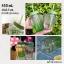 แก้วน้ำกระบองเพชร cactus พร้อมหลอด thumbnail 1