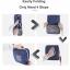 กระเป๋าเป้พับเก็บได้ ผลิตจากโพลีเอสเตอร์คุณภาพดี น้ำหนักเบา พับเก็บง่าย เสียบกระเป๋าเดินทางได้ พร้อมเดินทางทุกที่ thumbnail 15