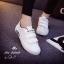 รองเท้าผ้าใบผู้หญิงไซส์ใหญ่ 41 สีขาว รุ่น KR0509 thumbnail 4