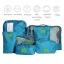 ชุดจัดกระเป๋าเดินทาง 7 ใบ จัดกระเป๋าเดินทาง ท่องเที่ยว ใส่เสื้อผ้า ชุดชั้นใน อุปกรณ์ห้องน้ำ กางเกงใน รองเท้า ถุงเท้า เครื่องสำอาง อุปกรณ์ไอที (Green) thumbnail 7