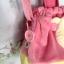 ถุงผ้าหูรุด 12 นิ้ว คุมะชมพู thumbnail 5