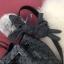 David Jones Bucket Leather (bag) 2018 New Colour Smoke เทาตัดขอบดำ free ถุงผ้า thumbnail 4