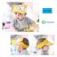 HT126••หมวกเด็ก•• / หมวกไวเซอร์ (เปิดศีรษะ) ม้าลาย [สีเหลือง] thumbnail 1