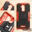 เคส Zenfone 3 Max ( ZC520TL ) 5.2 นิ้ว กรอบบั๊มเปอร์ กันกระแทก Defender สีแดง (เป็นขาตั้งได้) thumbnail 1
