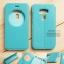 เคส Zenfone 3 ZE552KL (5.5 นิ้ว) เคสฝาพับหนัง PU แบบพิเศษ สีเขียวอมฟ้า thumbnail 1