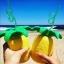 แก้วสับปะรด พร้อมหลอดเกลียว thumbnail 1