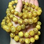 ไหมทอง (Golden Rutilated Quartz) หินเสริมความมั่งคั่งร่ำรวย เรียกโชคลาภ