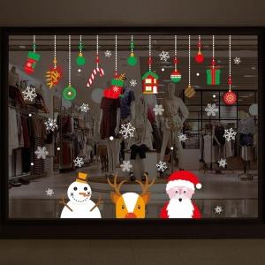 """สติ๊กเกอร์ติดผนังตกแต่งบ้าน """"Merry Chrismas Mobile"""""""