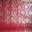 """วอลเปเปอร์แบบมีกาวในตัว """"ลายไทยหลุยส์ สีแดงทอง 2"""" หน้ากว้าง 122 cm เมตรละ 250 บาท thumbnail 3"""