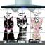 """สติ๊กเกอร์ติดครัวกันน้ำมันกระเด็น """"Sweet Cat"""" ขนาด 60 cm x 90 cm thumbnail 1"""