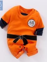 ชุดคอสเพลย์เด็กแฟชั่น Dragon Ball แนวชุดเซทสีส้ม