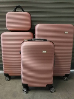 กระเป๋าเดินทาง ไฟเบอร์ ล้อลาก ขนาด 24 นิ้ว