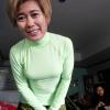 รีวิวผู้ใช้สินค้า เสื้อรัดรูปกระชับกล้ามเนื้อ สีเขียวอ่อน springgreen