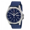 Seiko 5 Sport Mens Automatic Military 100M Blue Strap SNZG11